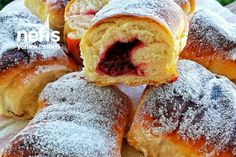 Berliner Yapımı – Nefis Yemek Tarifleri Doughnut, Breakfast, Desserts, Food, Morning Coffee, Tailgate Desserts, Deserts, Essen, Postres
