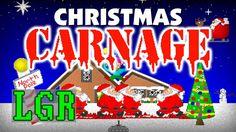 LGR - Christmas Carnage - DOS PC Sport Assessment
