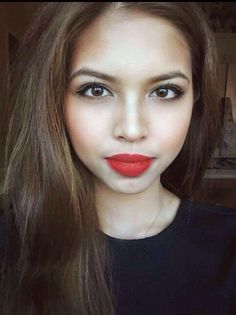 Maine Mendoza is one of the most popular celebrity today. She's popularly known as Yaya Dub or the Dubsmash Queen of the Philippines, but u. Best Red Lipstick, Red Lipsticks, Mac Ruby Woo Review, Buzzfeed Style, Gma Network, Maine Mendoza, Alden Richards, Ideal Girl, Best Lip Balm