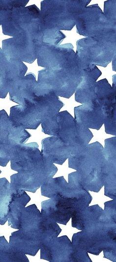 iPhone wallpaper. Blue stars. Week 30 2015.