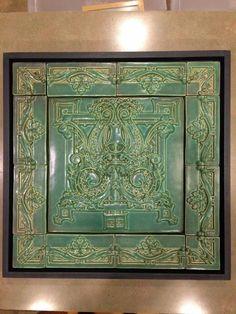 love this tile from Mike Skiersch, Skiersch Studio Art Tile on Facebook