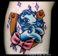 My little pony tattoo by Rachel McCarthy