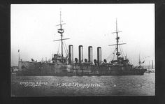 HMS Amphitrite was a ship of the Diadem-class of protected cruisers in the Royal Navy, which served in the First World War. In mission between Madeira and Cape Vert islands from August 1914 and June 1915 (Em missão entre a Madeira e Cabo Verde entre Agosto de 1914 e Junho de 1915).