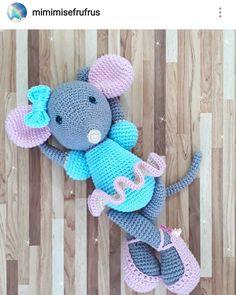 335 отметок «Нравится», 1 комментариев — Zelâl Beşer (@amigurumi.felt.crosstitch.knit) в Instagram: «#amigurumitoy #mouse»
