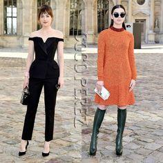 Dakota Johnson and Hailee Steinfeld look luxe for Christian Dior's show!