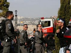 Four people have been killed and at least 16 injured after a suspected terrorist rammed a truck into a crowd of soldiersin Jerusalem. The driver accelerated into the groupexiting a city bus at the popular Armon HaNatziv promenade in south Jerusalem. The Israeli Prime Minister Benjamin Netanyahu said the attack was probably linked to the Isis terror group.