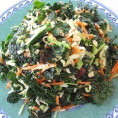 Vegan Kale Slaw