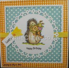 Lovely Hedgehogs stamp set