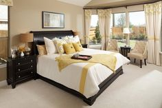 New Homes in Conroe, TX - Wedgewood Falls Preserve 2715 Master Bedroom