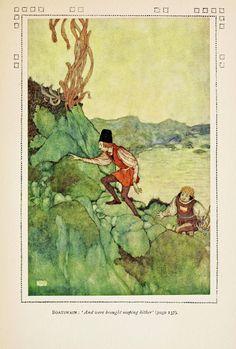 Edmund Dulac - The Tempest - 1908