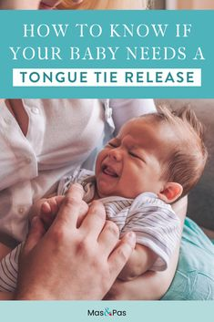 How to know if your baby needs a tongue tie release Baby Health, Kids Health, Positive Parenting Solutions, Parenting 101, Newborn Care, Newborn Babies, Breastfeeding And Pumping, Preparing For Baby, Baby Needs