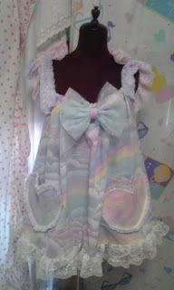 Fairy Kei, Pop Kei, Magical Girl, Pastel Fashion ♥ ♡。 ∴ 。Glitter Puffs ☆✿⊹⊱: How to wear spank!/pop kei fashion~*  Cute Fairy Kei/ Pop Kei Dress!