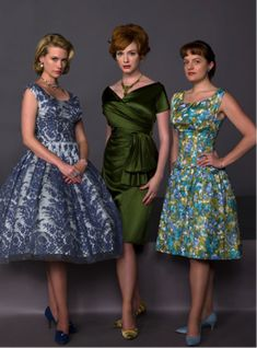 Mad Style: 5 Fashion Lessons from Mad Men. Follow the link, the modern day adaptions are lovely.