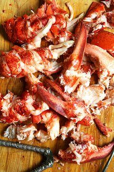 Lobster, my favorite!