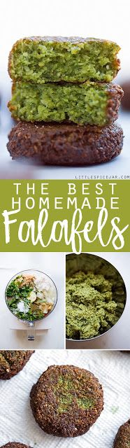 THE BEST HOMEMADE FALAFELS - My Kitchen Recipes