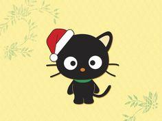 Christmas Chococat - chococat Wallpaper