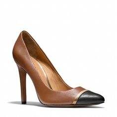 LOVE these shoes!!! Coach :: NACIE HEEL