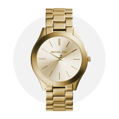 Michael Kors Slim Runway Gold Mk3179 Michael Kors Watch, Gold Watch, Gold Jewelry, Runway, Slim, Watches, Accessories, Cat Walk, Walkway