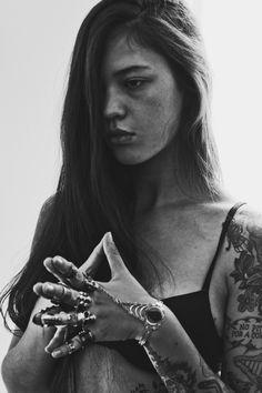 "#tattoo #girl #armtattoo #ink "" Ira Chernova - 2013 by Dilia Oviedo-Luciano """