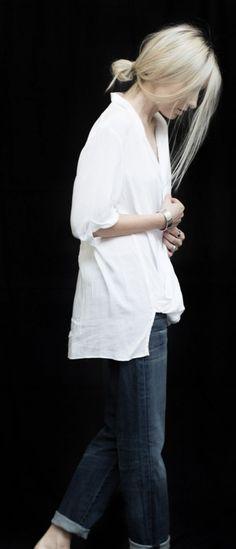 classic, minimal, white shirt, street style, casual
