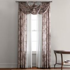 """<p>Frasier Window Treatments will bring an opulent touch to your space as rays of sun break through the sheer, floral design, showering your room with a warm and welcoming feel.</p><div style=""""page-break-after: always"""