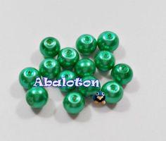 perlas de cristal lacado 8mm