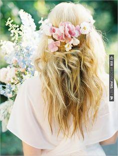 wedding hair | CHECK OUT MORE IDEAS AT WEDDINGPINS.NET | #weddinghair