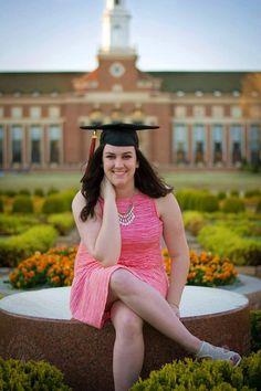 Oklahoma State University, Graduation Pictures, Library, Senior Poses, OSU 2016