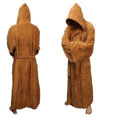 Star Wars Jedi Fleece Hooded Bath Robe