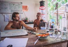 New post on the @goodearthfarmbali blog  Zone 0- Getting Organized  Check it! ....and if that's not enough to entice you this lovely photo by @brianaautran of the men behind #goodearthfarmbali and #goodearthconnection surely will  http://ift.tt/1NQLW7W  #zone0 #farmlife #systems #function #permaculture #goodlife #blog #ubud #bali by goodearthfarmbali