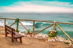 Place of meditation - A meditation place at the edge of the sea, Candado beach, Malaga, Spain