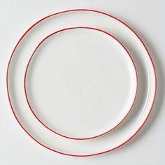 Vermelho Dinnerware
