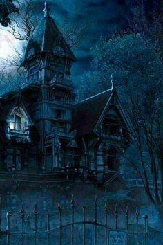 Haunted Mansions Android Wallpaper HD - Wallpaper World Wallpaper World, Hd Wallpaper Android, Wallpapers, Creepy Houses, Spooky House, Gothic Wallpaper, Dark Wallpaper, Spooky Places, Haunted Places