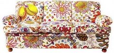 Josef Frank fabric - I would love a sofa covered in his fabric!