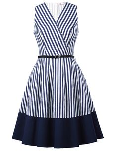 The Cape Cod dress is ready for a walk on the peer or lounging on a deck watching the waves. Made of a Low stretch cotton with a wrap front V neckline and belt. Pair with a cropped Navy or Red cardigan for those chilly Nautical nights. Sizing: Please see the style specific size chart included in the product images. This fabric has only a small amount of stretch, maybe 1 inch above our base measurements, so Please check the size guide carefully. This product has been tried, quality tested and…