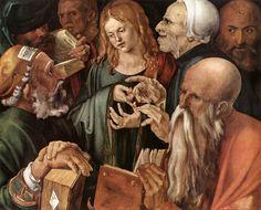 christ among the doctors 1506 albrecht durer