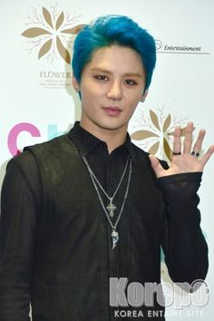 Junsu at Press Conference for 2015 XIA 3rd Asia Tour Concert 'FLOWER' in Tokyo 150324