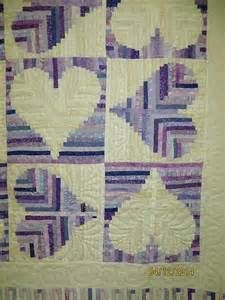 Loveland Log Cabin made from the pattern in Judy Martin's ...