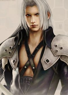 Sephiroth. Final Fantasy VII. Just learnt his story and... I understand and like him *don't hang me*
