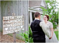 Signs for wedding