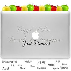 Just Dance! - Vinyl Decal for your Mac or Vehicle Window
