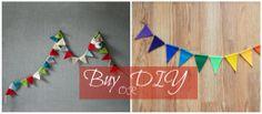 Buy or DIY? pennant garland