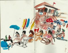Urban Sketchers: The routine of difficult times