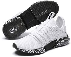 PRODUCT STORY With a form-fitting textured textile upper and a unique lacing system, the Hybrid Rocket has a sleek silhouette thats as ready for the gym as it is for the streets. Sock Shoes, Men's Shoes, Nike Shoes, Adidas Sneakers, Mens Puma Shoes, Mens Training Shoes, Fresh Shoes, Pumas Shoes, Victoria