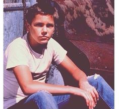 River Phoenix- In A Scene From ( Stand By Me ) RIP Our Angel  River Phoenix ✝
