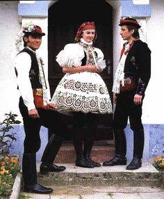 Vracov Folk Costume, Costume Dress, Costumes, Florida Usa, Beautiful Patterns, Czech Republic, Traditional Dresses, Embroidery Patterns, Boho Fashion