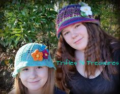 Free Panama Hat crochet pattern from TriflesNTreasures  http://www.triflesntreasures.com/my-attempt-at-blogging/unforgettable-panama-hatfree-pattern