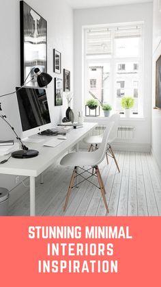 Stunning minimal interiors inspiration.