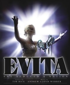 Evita - the first musical lyrics from a Broadway show I ever memorized Evita Musical, Musical Theatre Broadway, Broadway Plays, Broadway Shows, Theatre Geek, Music Theater, Concept Album, The Wedding Date, Tv