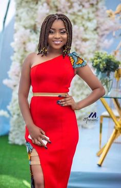 Trendy Prints And Style From Ankara Fabric - Fashion Ruk African Wear Dresses, African Wedding Dress, African Fashion Ankara, African Print Fashion, African Attire, African Prints, Trendy Ankara Styles, Africa Dress, African Design
